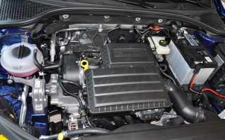 Шкода актавия лучшие двигателя
