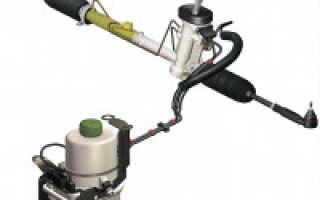 Как работает гидроусилитель руля