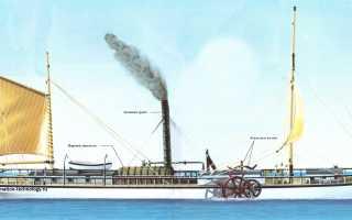 Что такое паровой колесный двигатель