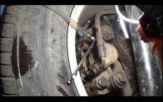 Прокачка тормозов газ 66